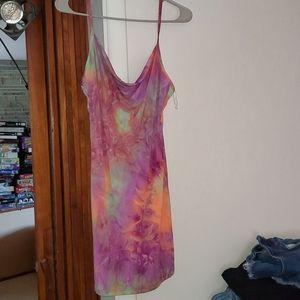 Large Tye Dye Dress